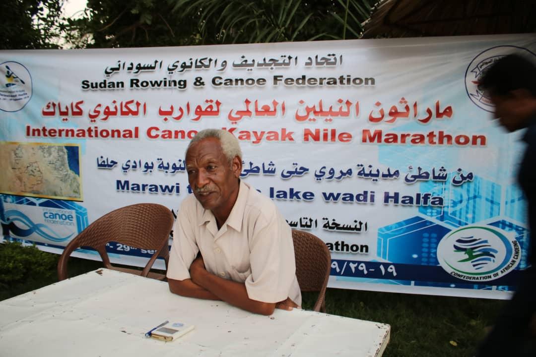 رئيس الاتحاد السوداني للتجديف والكانوي يضع النقاط علي الحروف